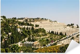 Pixerstick Aufkleber Gethsemane und der Kirche aller Nationen in Jerusalem