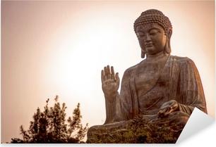 Pixerstick Aufkleber Giant Buddha