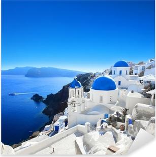Pixerstick Aufkleber Griechenland - Santorini (Oia Dorf)