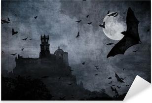 Pixerstick Aufkleber Halloween Hintergrundp