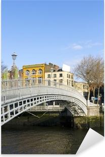 Pixerstick Aufkleber Hapenny Bridge