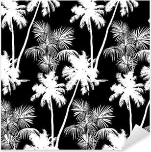 Pixerstick Aufkleber Hawaiianisches nahtloses Muster