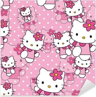 Pixerstick Aufkleber Hello Kittyp