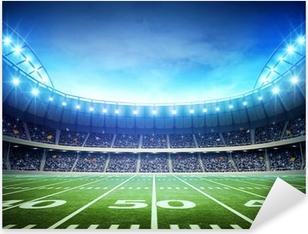 Pixerstick Aufkleber Hintergrund der amerikanischen Stadion