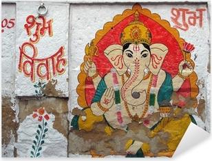 Pixerstick Aufkleber Inde - Ganesh Mahal