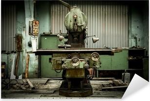 Pixerstick Aufkleber Industrielle Maschinen in einer Fabrik