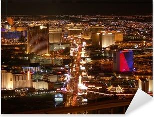 Pixerstick Aufkleber Las Vegas Strip bei Nachtp