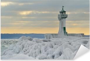 Pixerstick Aufkleber Leuchtturm Insel Rügen