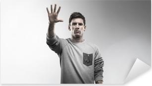 Pixerstick Aufkleber Lionel Messi
