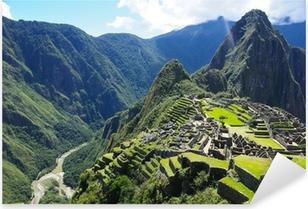 Pixerstick Aufkleber Machu Picchu (Peru)