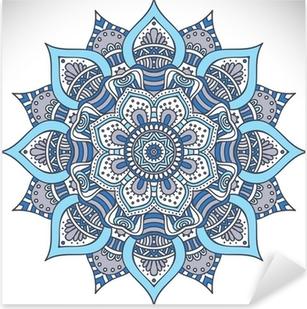 Pixerstick Aufkleber Mandala