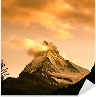 Pixerstick Aufkleber Matterhorn, Zermattp