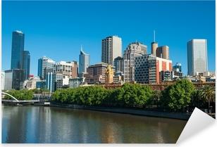 Pixerstick Aufkleber Melbourne Skyline