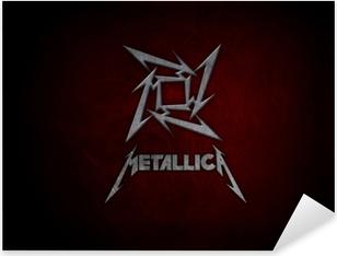 Pixerstick Aufkleber Metallica
