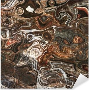 Pixerstick Aufkleber Mineral gefärbt