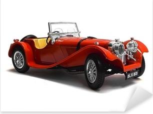 Pixerstick Aufkleber Modellauto Oldtimer, Classic Carp