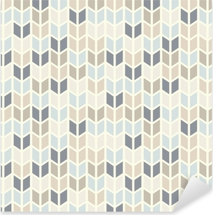 Pixerstick Aufkleber Nahtlose geometrische Muster in Pastelltönenp