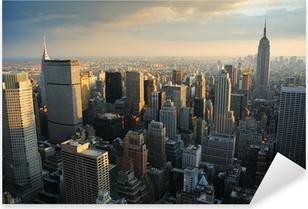 Pixerstick Aufkleber New York City, skyline