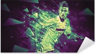 Pixerstick Aufkleber Neymar
