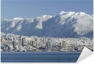 Pixerstick Aufkleber North Vancouver Skylinep