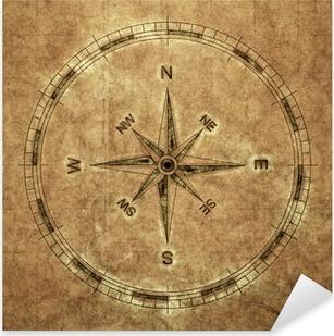 Pixerstick Aufkleber Old Compass