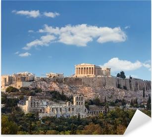 Pixerstick Aufkleber Parthenon, Akropolis - Athen, Griechenland