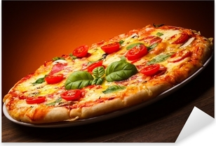 Pixerstick Aufkleber Pizza