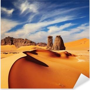Pixerstick Aufkleber Sahara Desert, Algeriap