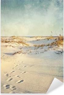 Pixerstick Aufkleber Sand Dunes at Sunset strukturiertes Bildp