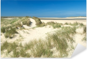 Pixerstick Aufkleber Sanddünen an der Küstep