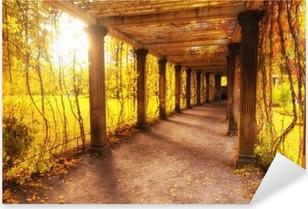Pixerstick Aufkleber Schöner Herbstpark
