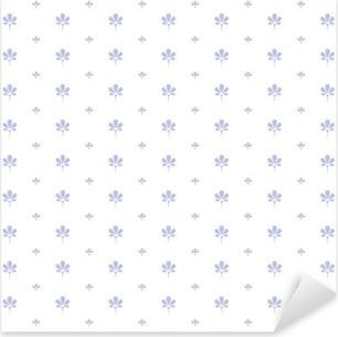 Pixerstick Aufkleber Seamless floral pattern