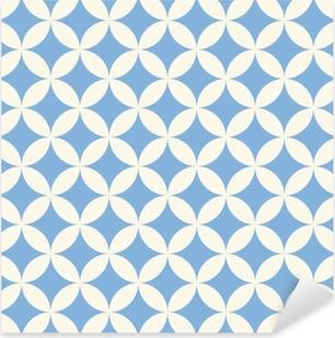 Pixerstick Aufkleber Seamless pattern