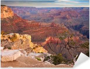 Pixerstick Aufkleber Sonnenaufgang über dem Grand Canyon