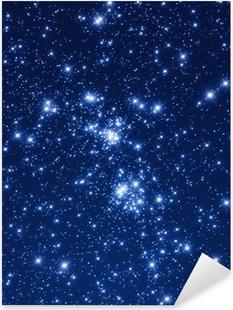 Pixerstick Aufkleber Sternhaufen