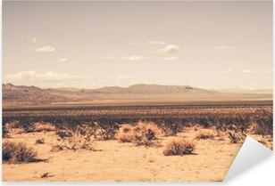 Pixerstick Aufkleber Südliche Wüste in Kalifornien