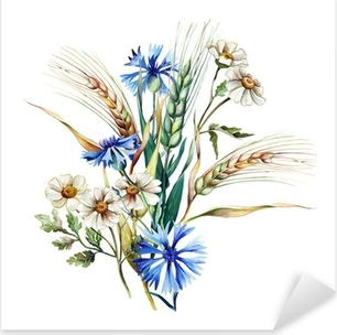 Pixerstick Aufkleber Summer Bouquet
