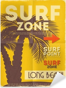 Pixerstick Aufkleber Surfen Poster