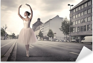 Pixerstick Aufkleber Tänzerin