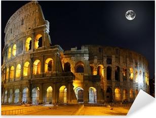 Pixerstick Aufkleber The Colosseum, Rome. Nachtansicht