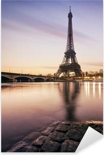 Pixerstick Aufkleber Tour Eiffel - Paris - Frankreichp