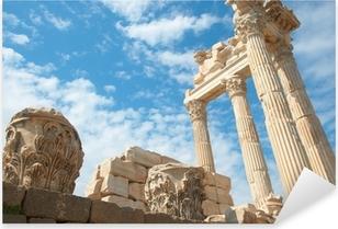 Pixerstick Aufkleber Trajan-Tempel in Pergamon Türkei