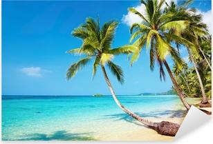 Pixerstick Aufkleber Tropical beach