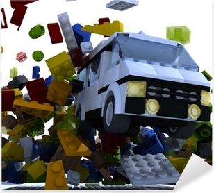 Aufkleber Lego Pixers Wir Leben Um Zu Verandern