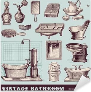 Vintage Badezimmer - Möbel und Accessoires