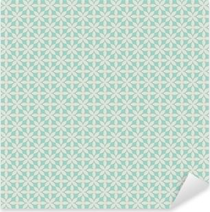 Pixerstick Aufkleber Vintage seamless pattern