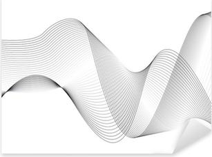 Pixerstick Aufkleber Wellen und linienp
