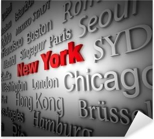 Pixerstick Aufkleber Weltstadt2 New York