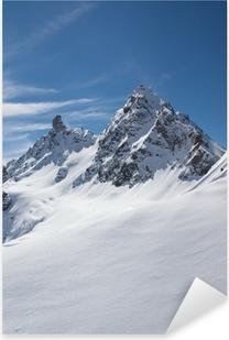 Pixerstick Aufkleber Winter in der Silvretta