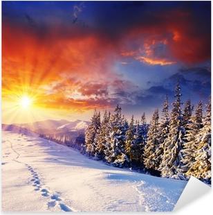 Pixerstick Aufkleber Winterlicherp